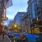 Bush Street Downtown by David Denny