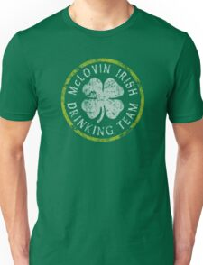 McLovin Irish Drinking Team Unisex T-Shirt
