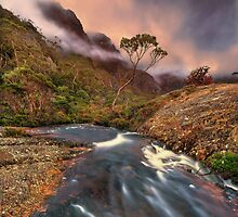 Cradle Mountain winter twilight by Kevin McGennan