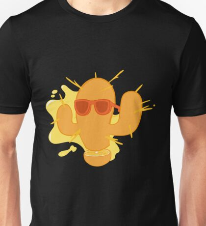 Orange Cactus Unisex T-Shirt