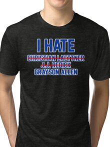 I Hate Grayson Allen Tri-blend T-Shirt