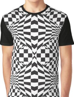 Op Art Pattern Graphic T-Shirt