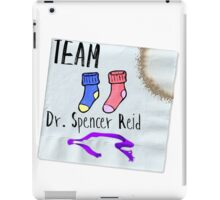 Team Dr. Spencer Reid iPad Case/Skin