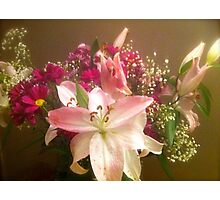 BOUQUET Photographic Print