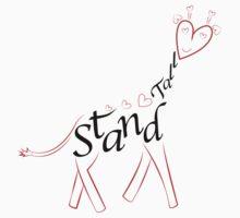Stand tall heart giraffe by xxnatbxx