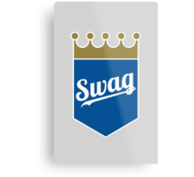 Royal Swag Crown Metal Print
