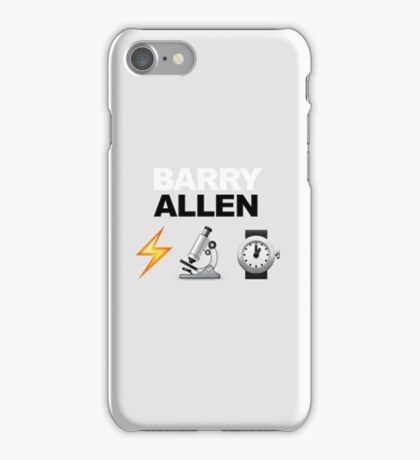 Emojis - Barry Allen iPhone Case/Skin