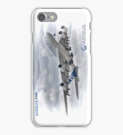 Airbus A380 Take-Off - Duvets, Cases, Pillows etc iPhone Case/Skin