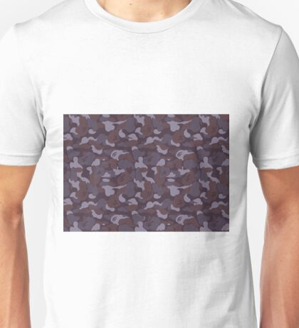 BAPE Purple Grey Camo Unisex T-Shirt