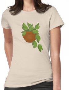 The room hanging plant pots Womens Fitted T-Shirt