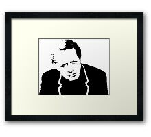 The Prisoner - McGoohan Framed Print