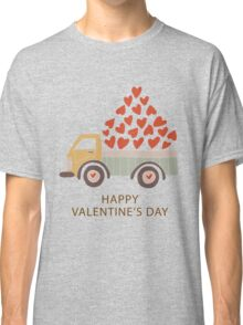 Truckload of Love - Happy Valentine's Day Classic T-Shirt
