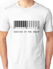 Barcode of the Beast Unisex T-Shirt