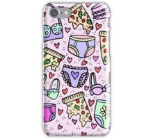 Pizza and Panties Party iPhone Case/Skin