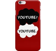 Youtube - TFIOS (red) iPhone Case/Skin