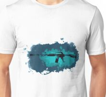 CSGO M4A1-S Icarus Fell Water Color Unisex T-Shirt
