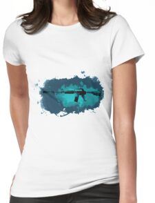 CSGO M4A1-S Icarus Fell Water Color Womens Fitted T-Shirt