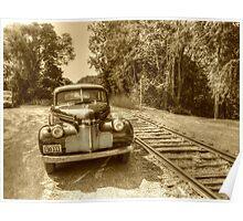 Beside The Tracks Poster