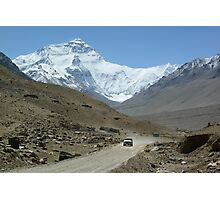 North face of Everest Photographic Print