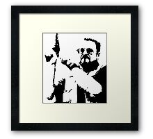 The Big Lebowski Walter Framed Print