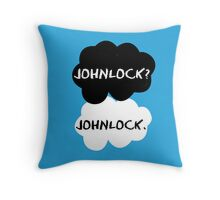 Johnlock - TFIOS Throw Pillow