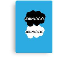 Johnlock - TFIOS Canvas Print