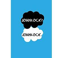 Johnlock - TFIOS Photographic Print