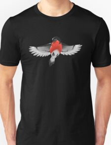 Bullfinch bird Unisex T-Shirt