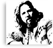 The Big Lebowski Dude Canvas Print