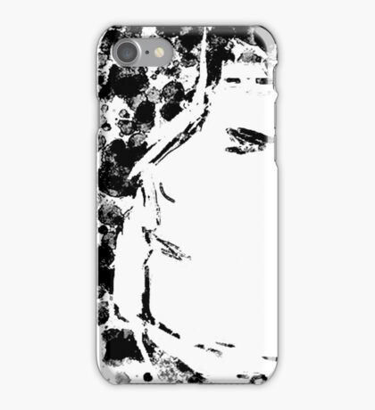 Girl Profile with Dots  iPhone Case/Skin