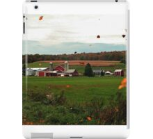 Swirling Leaves At The Farm iPad Case/Skin