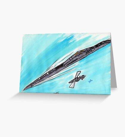 The Cruiser Valley Forge Taskorce 65 Greeting Card