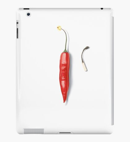 Red Hot (wordless) iPad Case/Skin