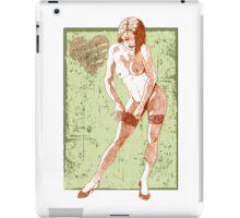 Sexy Curtain iPad Case/Skin