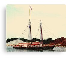 Roseway - Preparing for the Parade Canvas Print