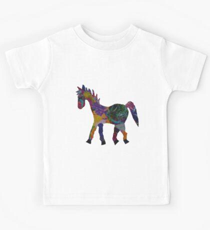Rainbow Pony Kids Tee