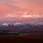 Sunset over Alaska Range by Greg Clifford
