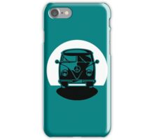 Bus In Sunset Or Moonshine iPhone Case/Skin