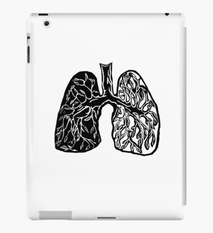 Plant Lungs iPad Case/Skin