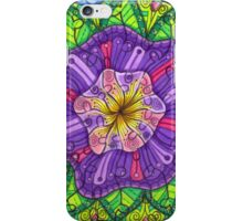 Floral Puzzle Mandala iPhone Case/Skin