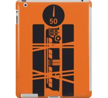 No330 My SPEED minimal movie poster iPad Case/Skin