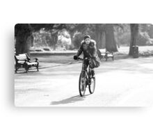 Cycling Metal Print