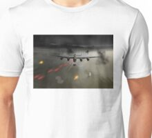 P-Popsie attacking the Mohne Dam Unisex T-Shirt