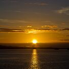 Inside Passage Sunset by Greg Clifford