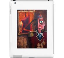 the Admired Admiral  iPad Case/Skin