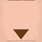 No354 My Rochelle Rochelle minimal movie poster by Chungkong