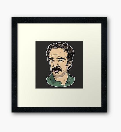 Steven Ogg - (Trevor GTA) Framed Print