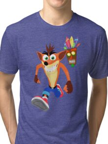 FunnyBONE - Crash 3 Tri-blend T-Shirt