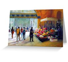 Under the clocks (Flinders street station - Melbourne) Greeting Card