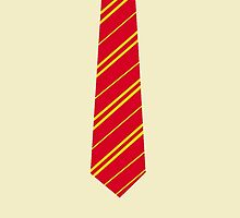 Gryffindor Tie by brightestwitch